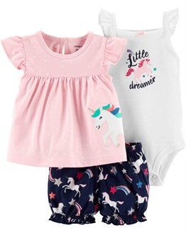 Carters  Unicorn Desenli Set